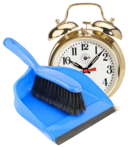 TIme Management Spring Cleaning