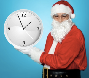 Time management santa