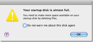 time management startup-disk