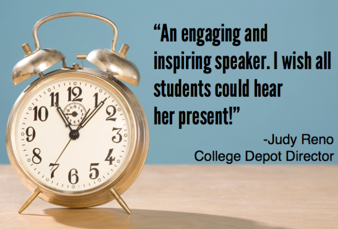 time management student speaker